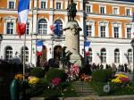 hommage aux morts de St-Julien-en-Genevois