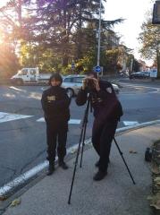 radar de la police municipale de Saint Julien
